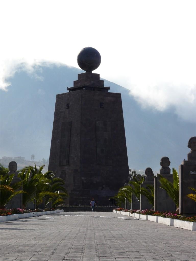 Mitad del Mundo - equator Quito, Ecuador