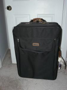 giant suitcase