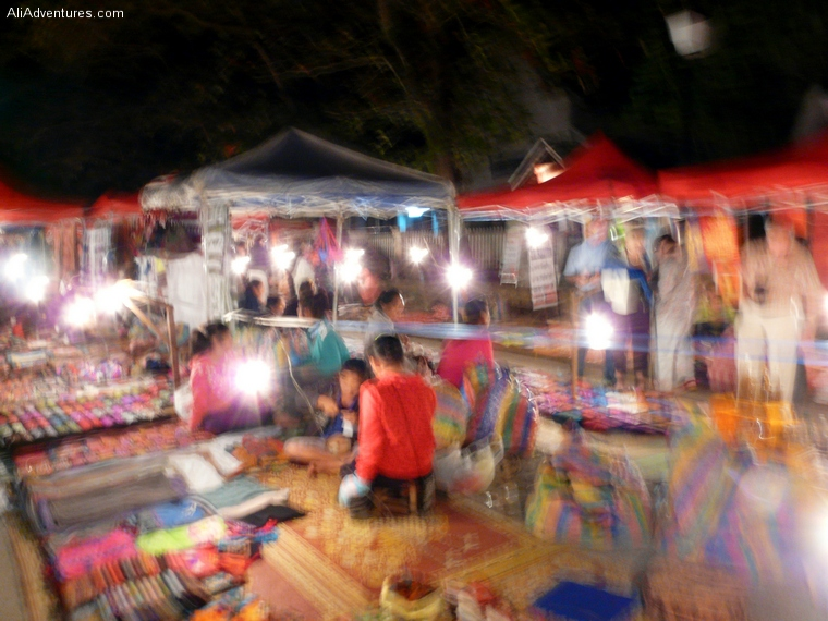 Luang Prabang, Laos, night market