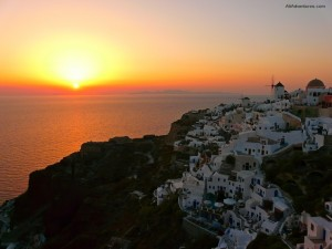 Weekly Photo – Santorini Sunset