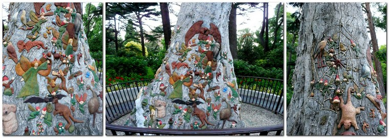 quirky Melbourne - fairies tree