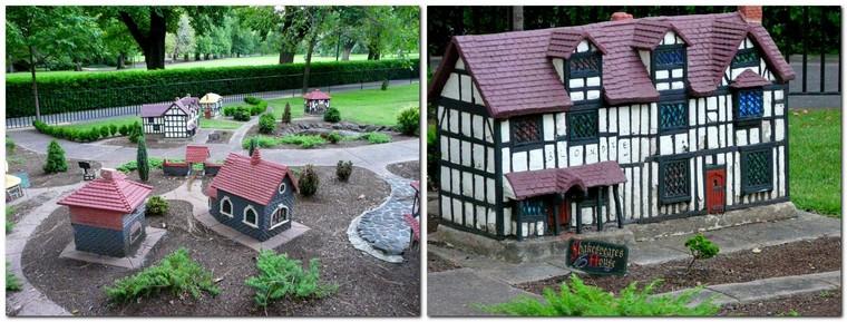 quirky Melbourne - mini Tudor village