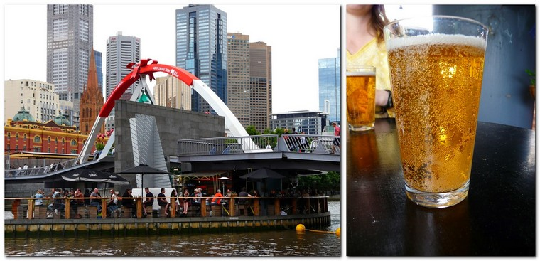 quirky Melbourne - Ponyfish Island bar under a bridge