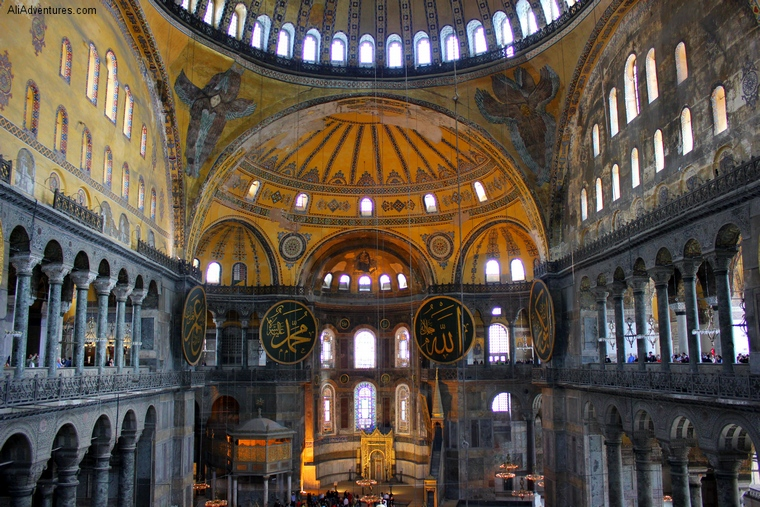 Hagia Sofia Istanbul, Turkey