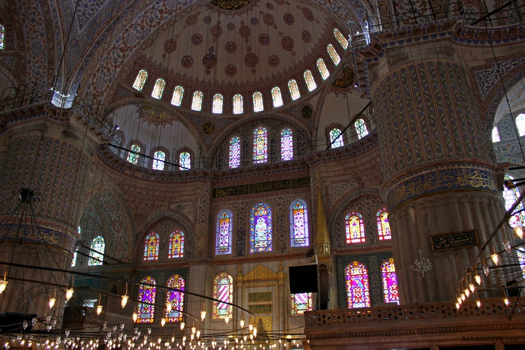 Blue Mosque ceilin