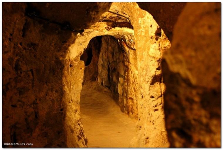 Cappadocia tour, underground cave city