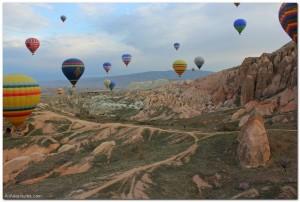 Cappadocia Hot Air Balloons in Photos