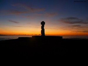 Malibu Sunsets on Easter Island
