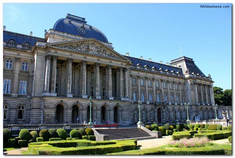 Brussels Royal Palace
