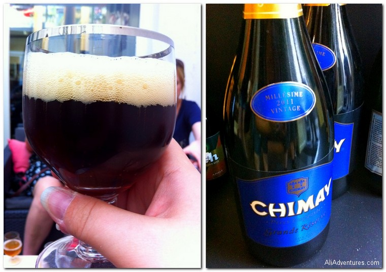 Brussels beer tasting - Chimay