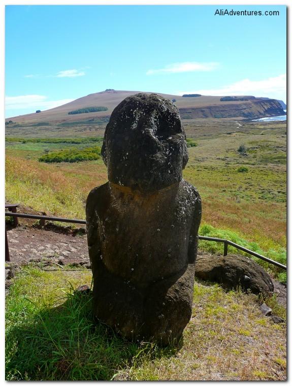 sculpture easter island