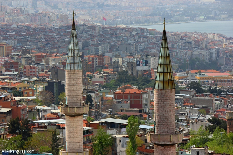Izmir Turkey  city pictures gallery : view from castle in Izmir, Turkey