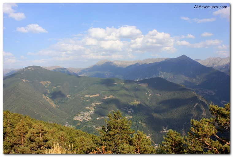 visiting Andorra - Andorra view
