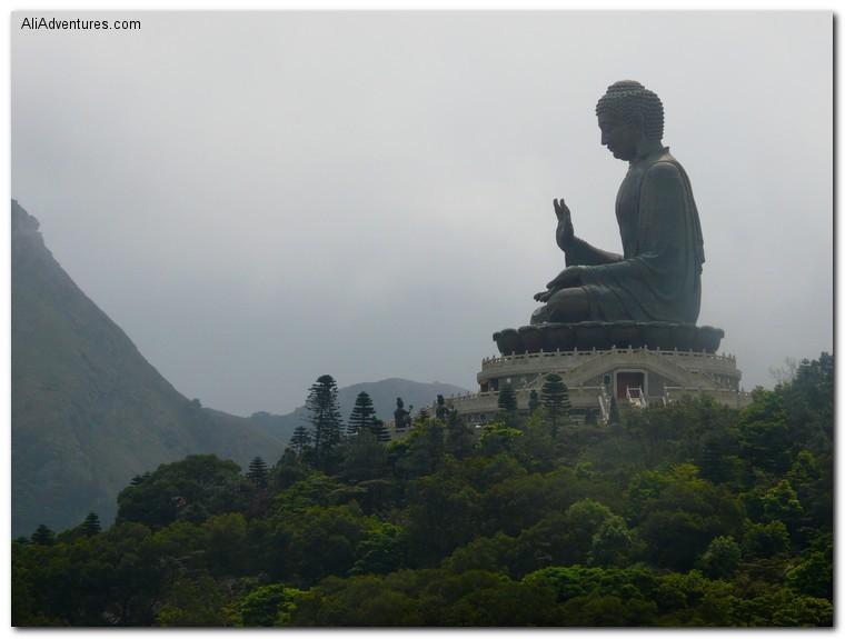 Hong Kong outdoor Buddha