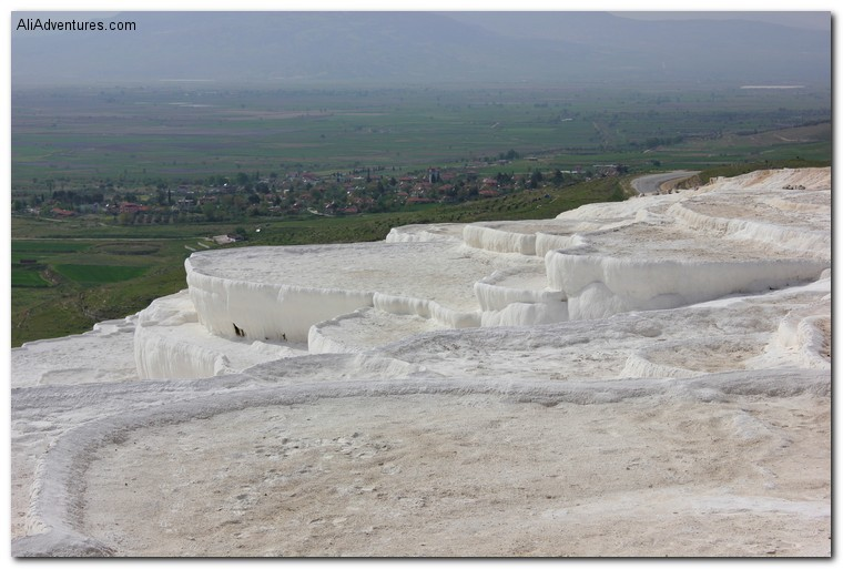 Pamukkale travertines, Turkey