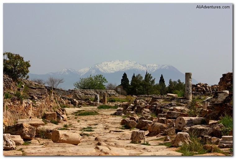 ruins at Pamukkale, Turkey