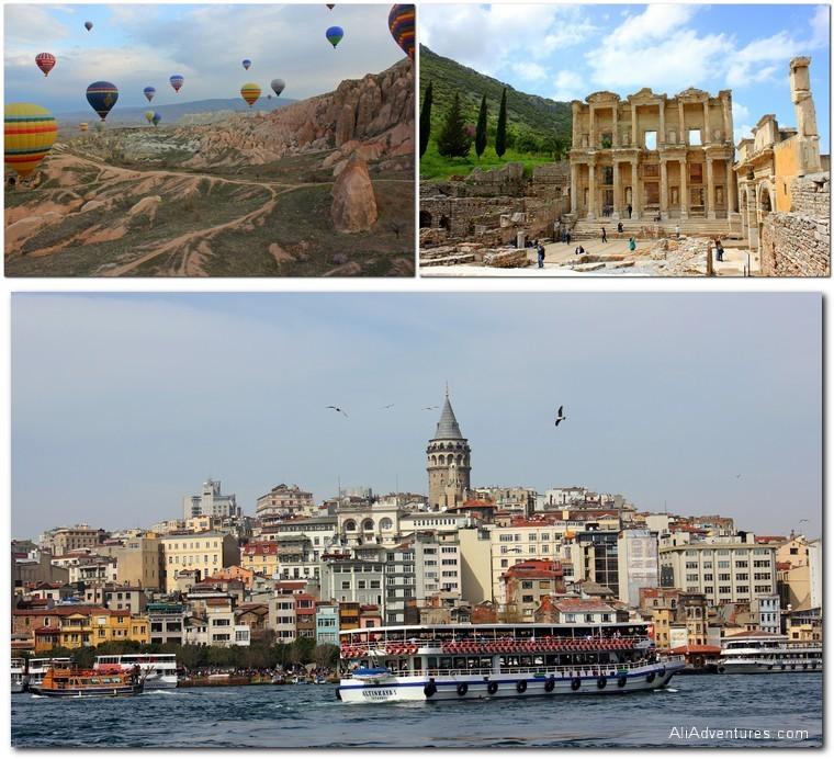 Turkey: Cappadocia, Ephesus, Istanbul