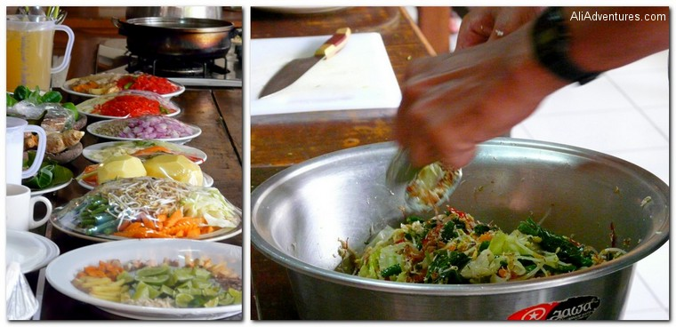 Bali Indonesia cooking class