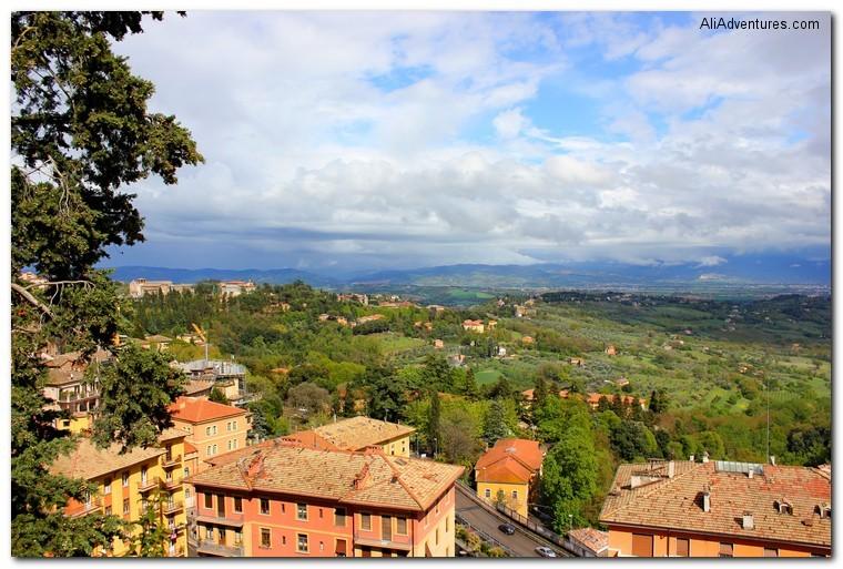Umbria: Perugia, Italy
