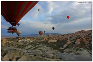 Weekly Photo – Hot Air Balloons in Cappadocia, Turkey