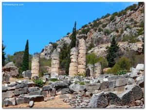The Day I Didn't See the Oracle of Delphi, Greece