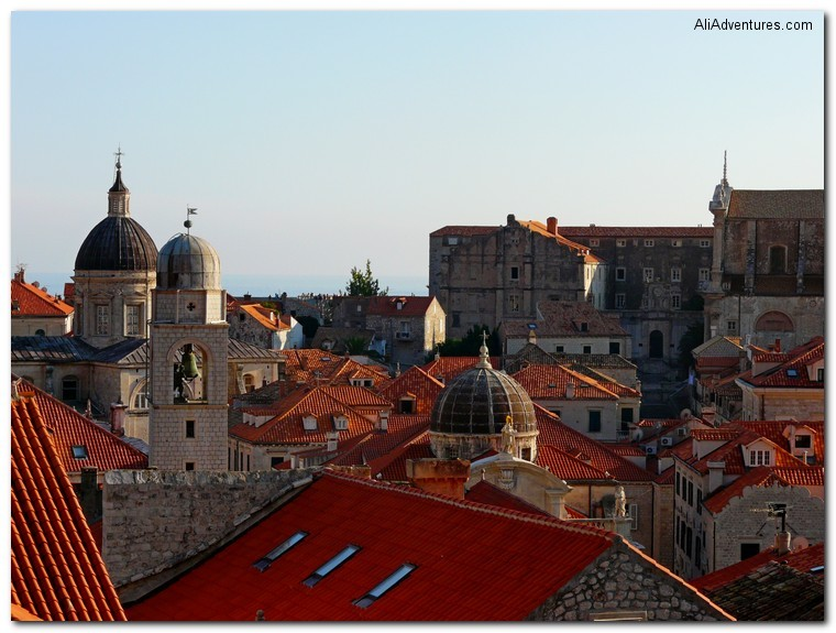 Dubrovnik, Croatia roofs