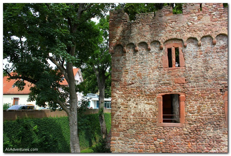 Heidelberg - Tiefburg Castle
