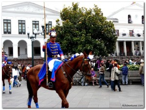 Weekly Photo – Quito Changing of the Guard