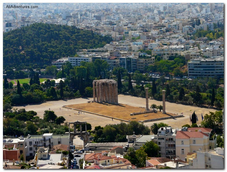 ruins of Athens, Greece