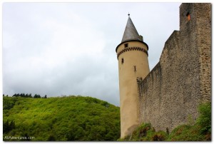 Exploring Vianden Castle in Luxembourg