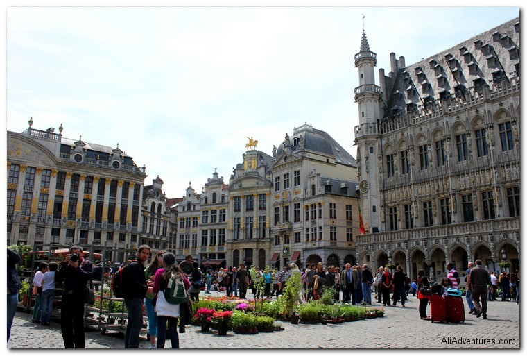 Brussels photos - Brussels Grand Place