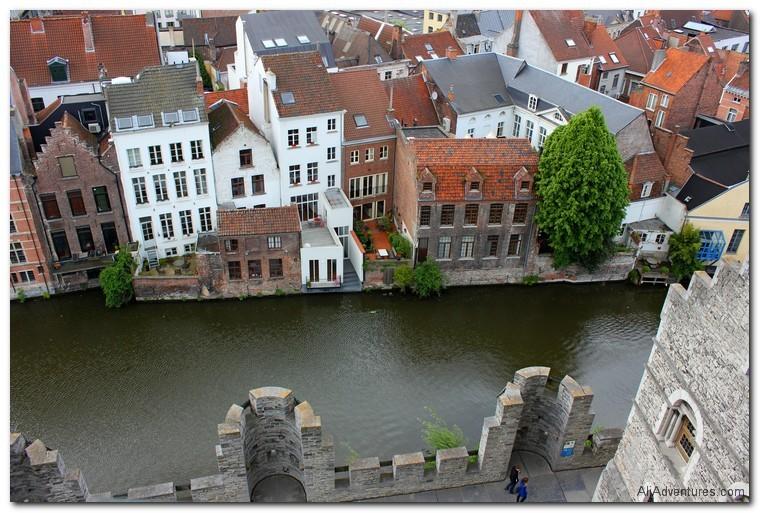 Castle Gravensteen, Ghent, Belgium