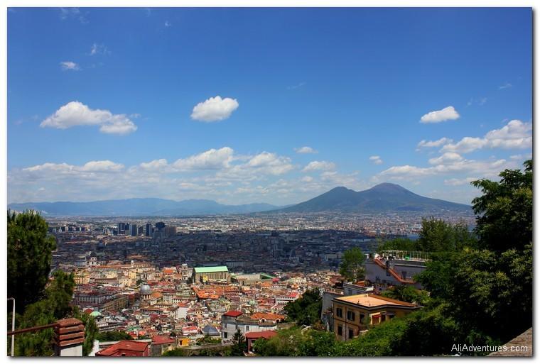 Naples, Italy castles
