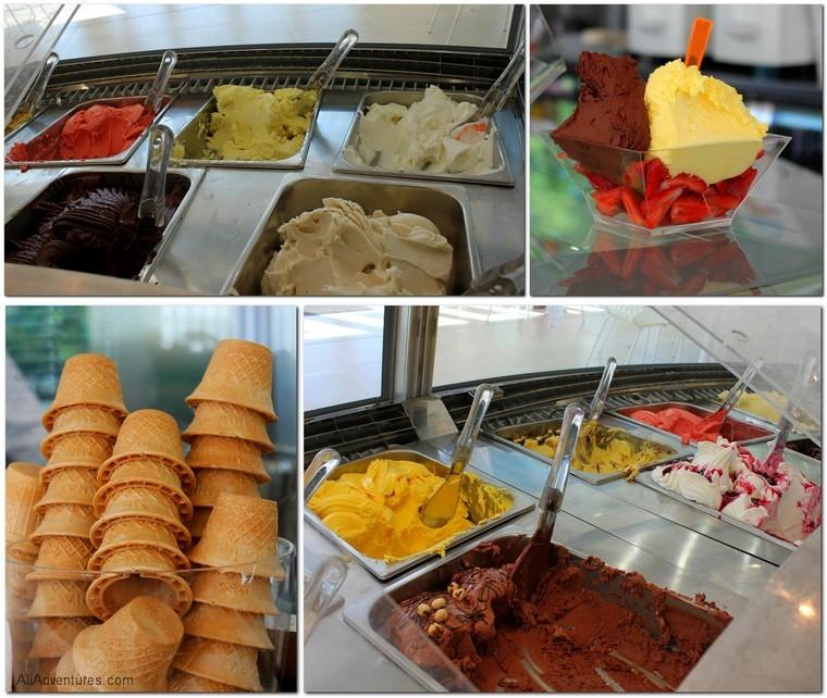 gelato in Italy