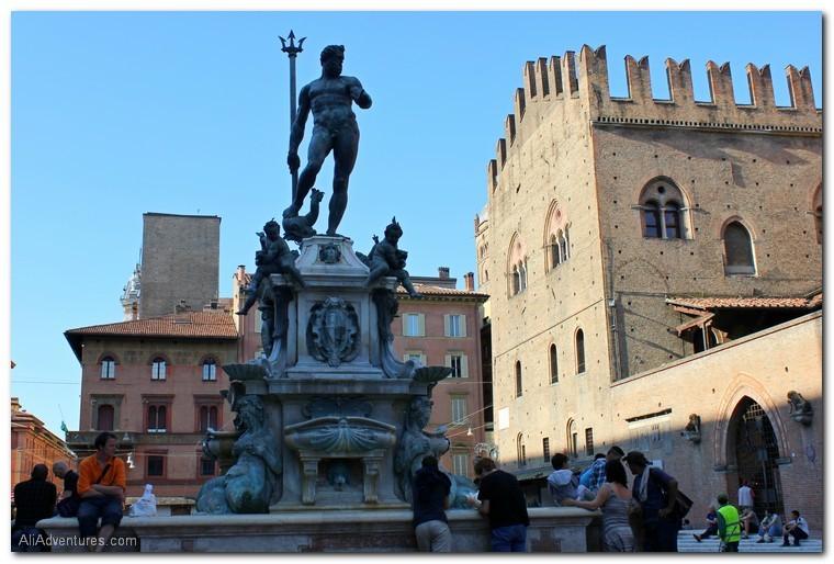 Neptune Statue, Bologna, Italy