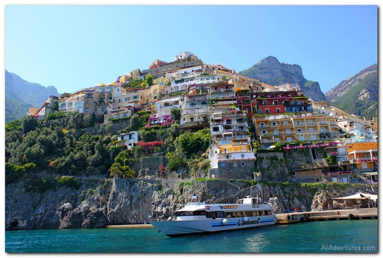 how much we spent traveling on the Amalfi Coast, Italy