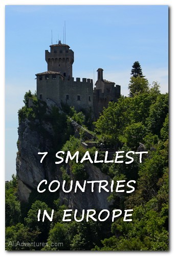 7 smallest countries in Europe