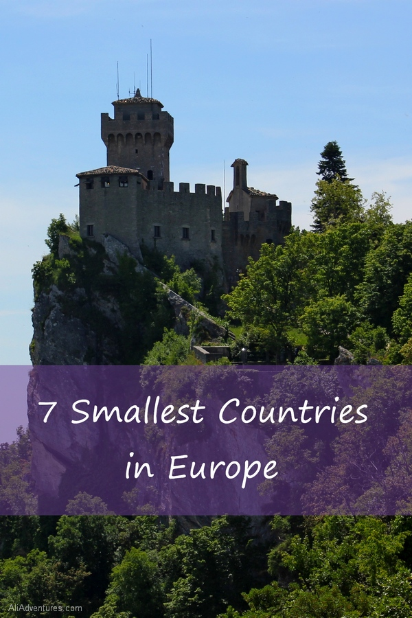 The 7 Smallest Countries In Europe