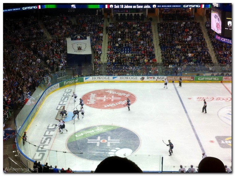 Berlin hockey game