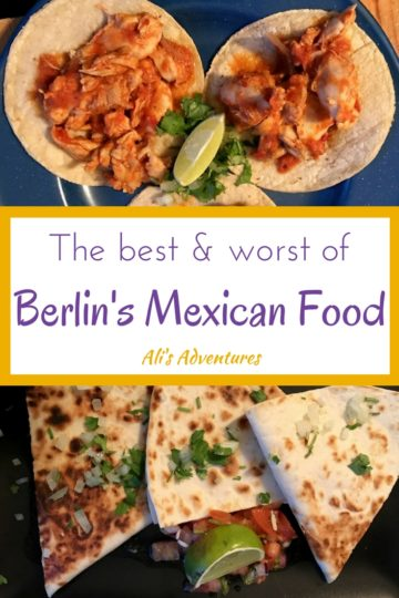 Mexican food in Berlin