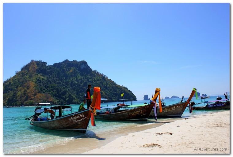 Krabi, Thailand 4 islands tour