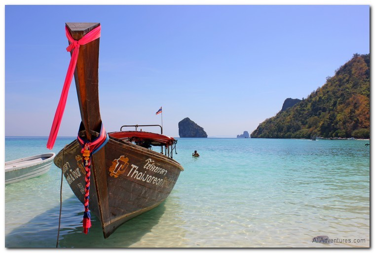 Krabi, Thailand 4 islands tour