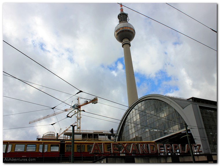 Berlin photos - health problems derail travel plans