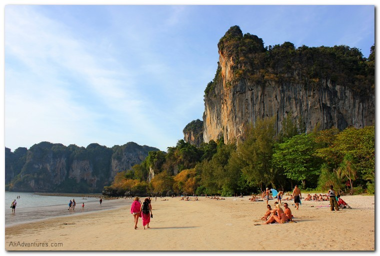 railay beach how to get there