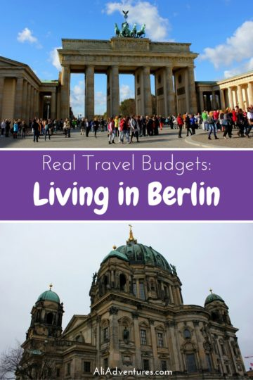 how much we spent in Berlin