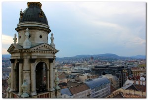 Views of Budapest from St. Stephen's Basilica