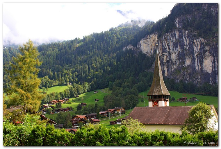Lauterbrunnen and Interlaken, Switzerland photos