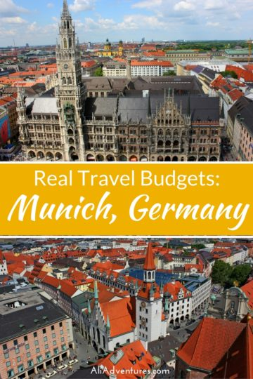 How Much We Spent Traveling in Munich