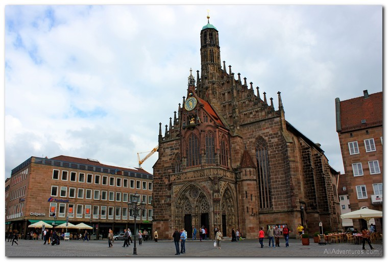 how much we spent traveling in Nuremberg and Bamberg