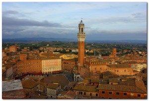 Scenes From Siena, Italy and a Steam Train Through Tuscany